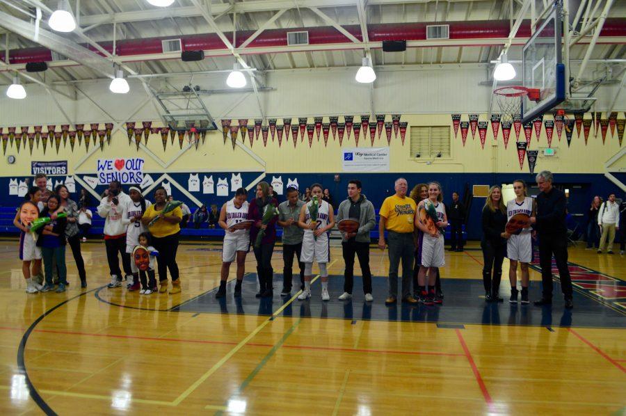 Girls' Varsity Basketball Senior Night Recap