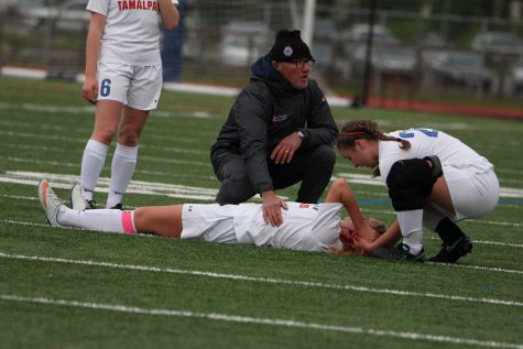 Girls' Varsity Soccer Captain Injured in Game Collision