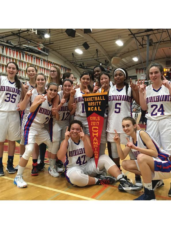 Girls' Basketball Wins MCAL Championship Title