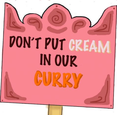 Don't Put Cream in our Curry!