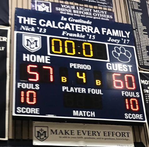 Varsity Boys' Basketball Beats Marin Catholic