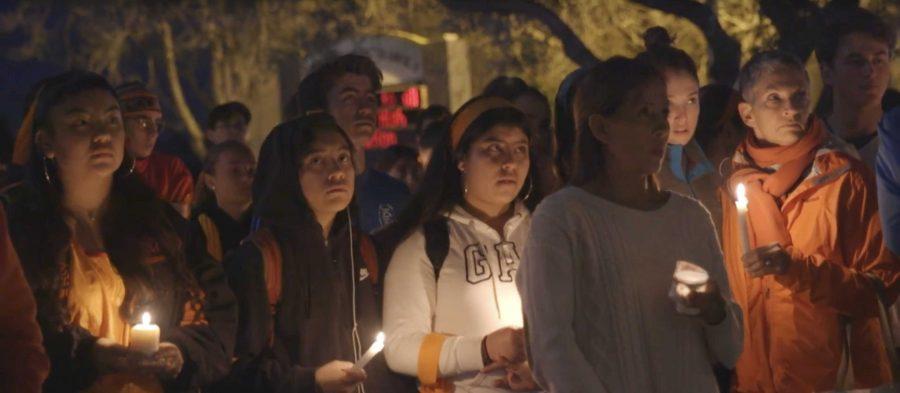 Vigil+for+Parkland+shooting+victims+held+at+Tam