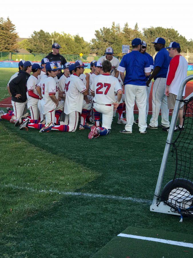 Varsity Baseball Shuts Down Marin Catholic