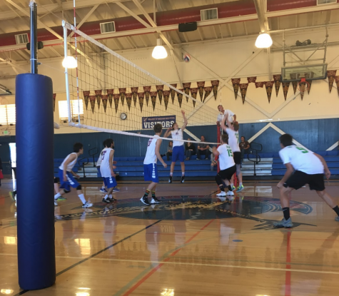 Boys Volleyball Loses to Drake