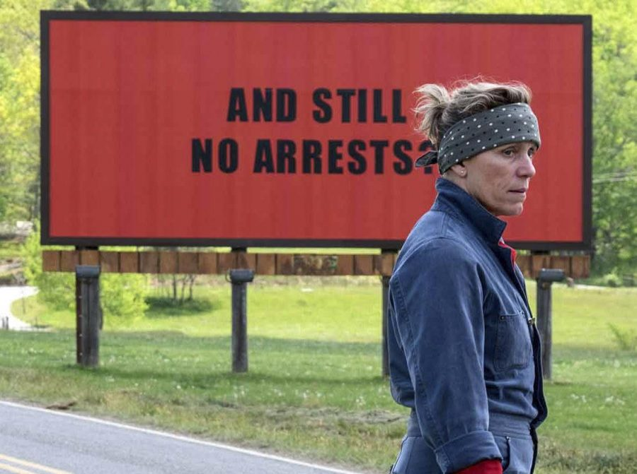 Five Stars for Three Billboards