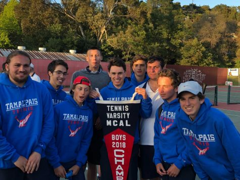 Boys Tennis Wins MCAL Championship