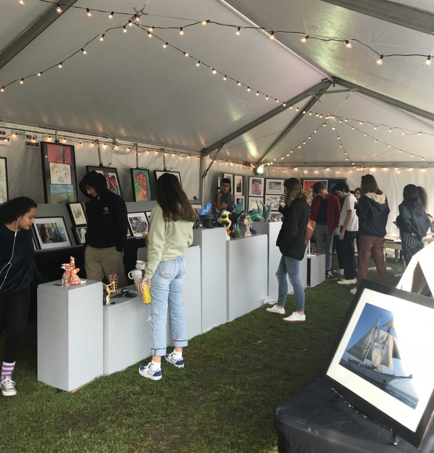 Annual art fair raises money for art department