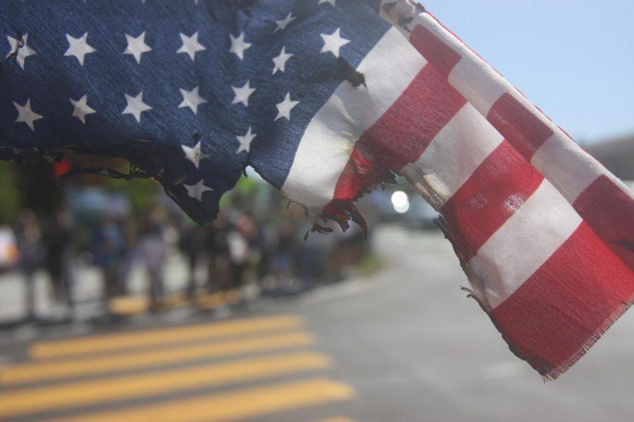 Burned Flag