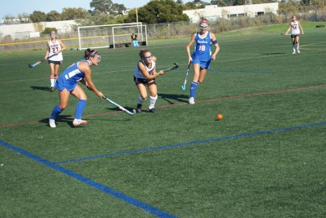 Tam High girls field hockey team