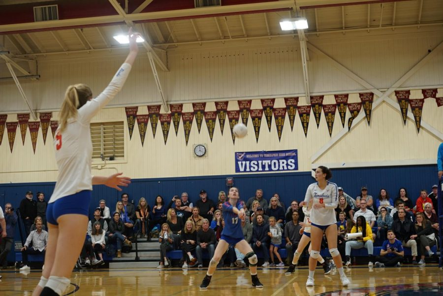 Photos: Girls volleyball loses 0-3 to Aptos in NCS championship