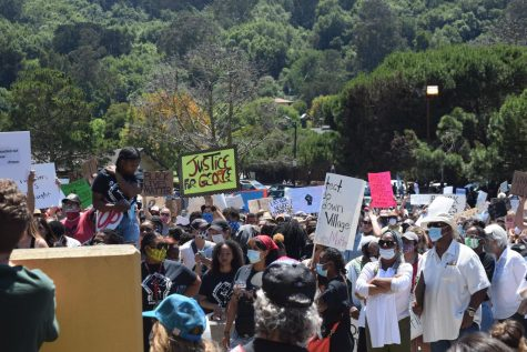 Marin residents attend Black Lives Matter protest in Marin City