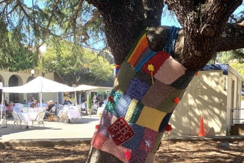 Knitting us Together project transforms Mill Valley depot